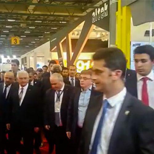 Başbakan Binalı Yıldırım IDEF Fuarında